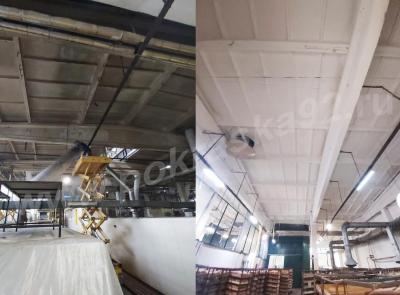Покраска потолка цехов Крым Хлеб г. Симферополь