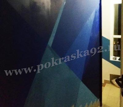 Покраска коридора Первого Севастопольского канала