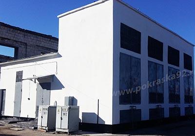 Ремонт здания подстанции Инкерман