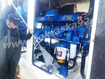 Очистка дизельного генератора от копоти