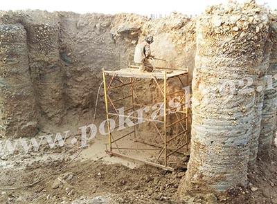 Гидроструйная очистка бетона