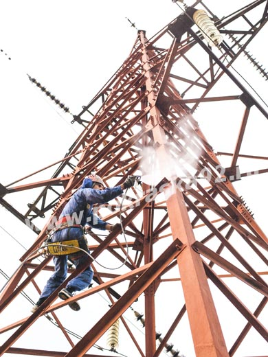 Покраска металлоконструкций линий электропередач в Севастополе