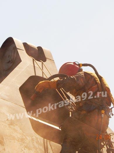 Гидропескоструйная обработка в Севастополе
