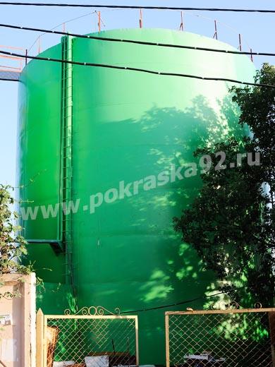 Высотные работы по окраске емкости Севастополь