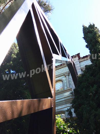 Покраска балок, ферм, ангаров, межэтажных перекрытий в Севастополе