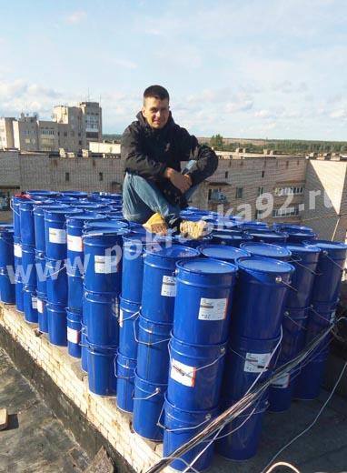 Полимерная мастика для крыши