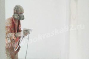 Покраска стен, потолка, пола в помещении Севастополь