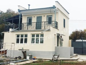 Покраска фасада, ворот, забора Севастополь