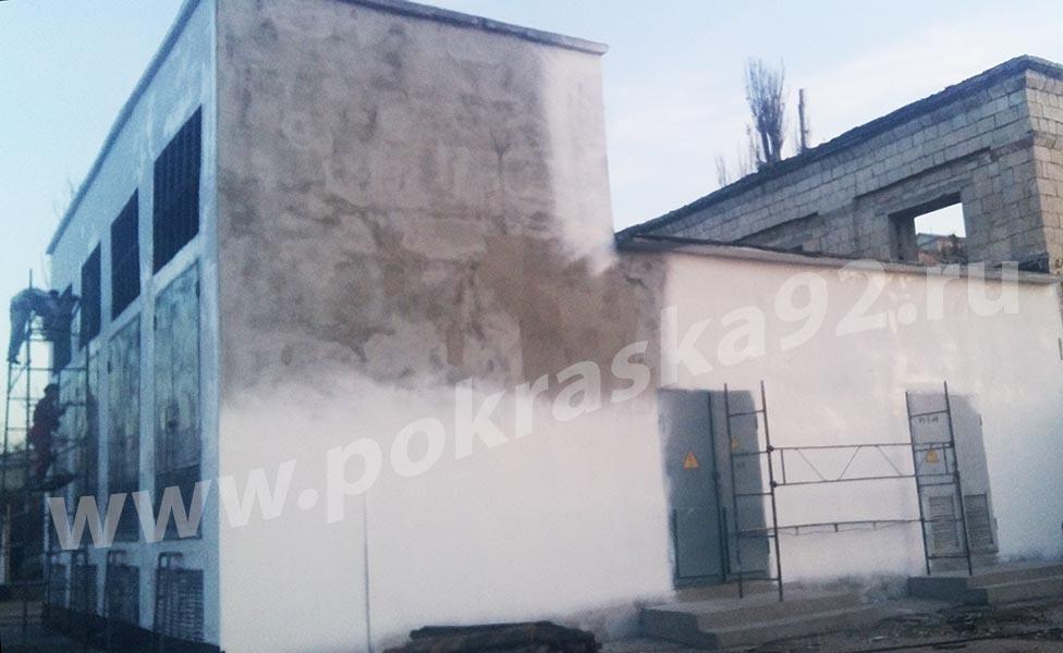 Шпатлевка, штукатурка и покраска стен дома в Севастополе