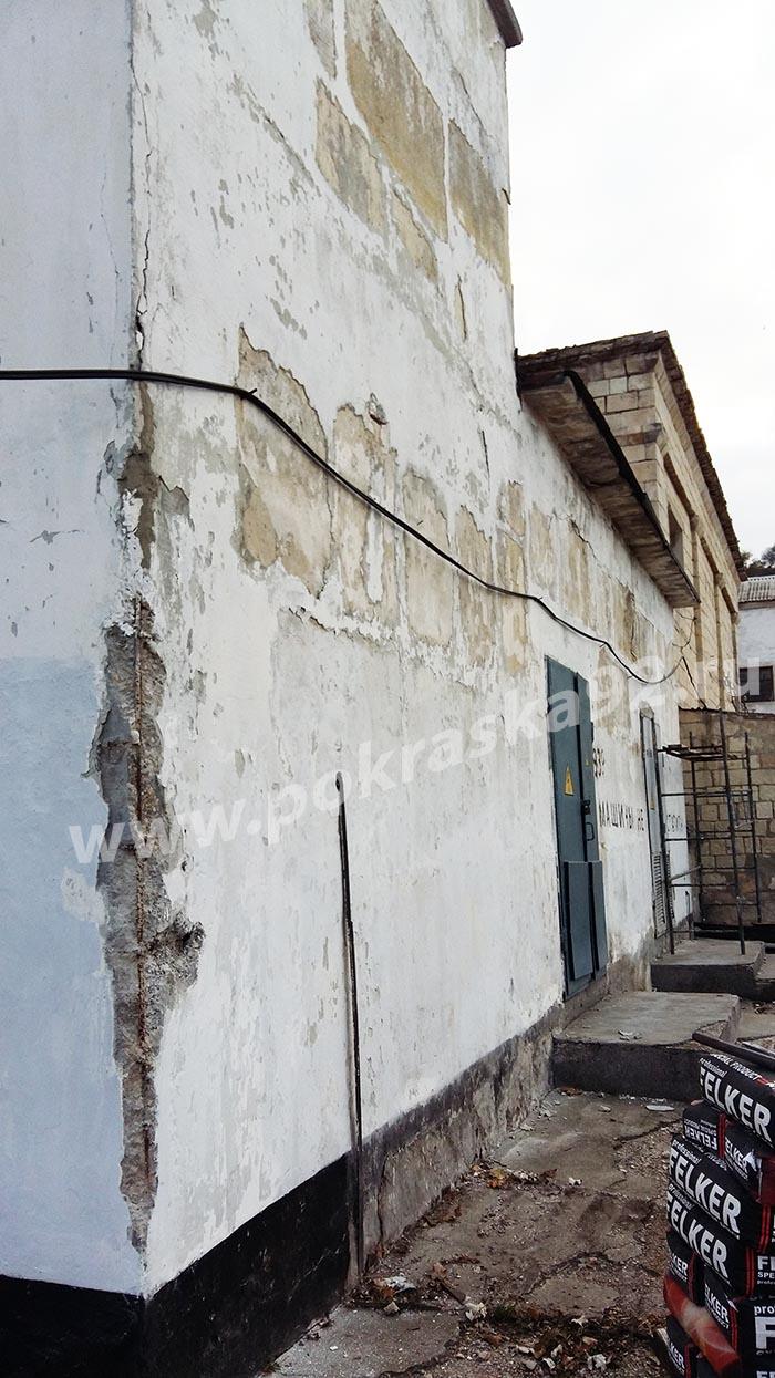 Механизированная безвоздушная окраска краскопультом Севастополь
