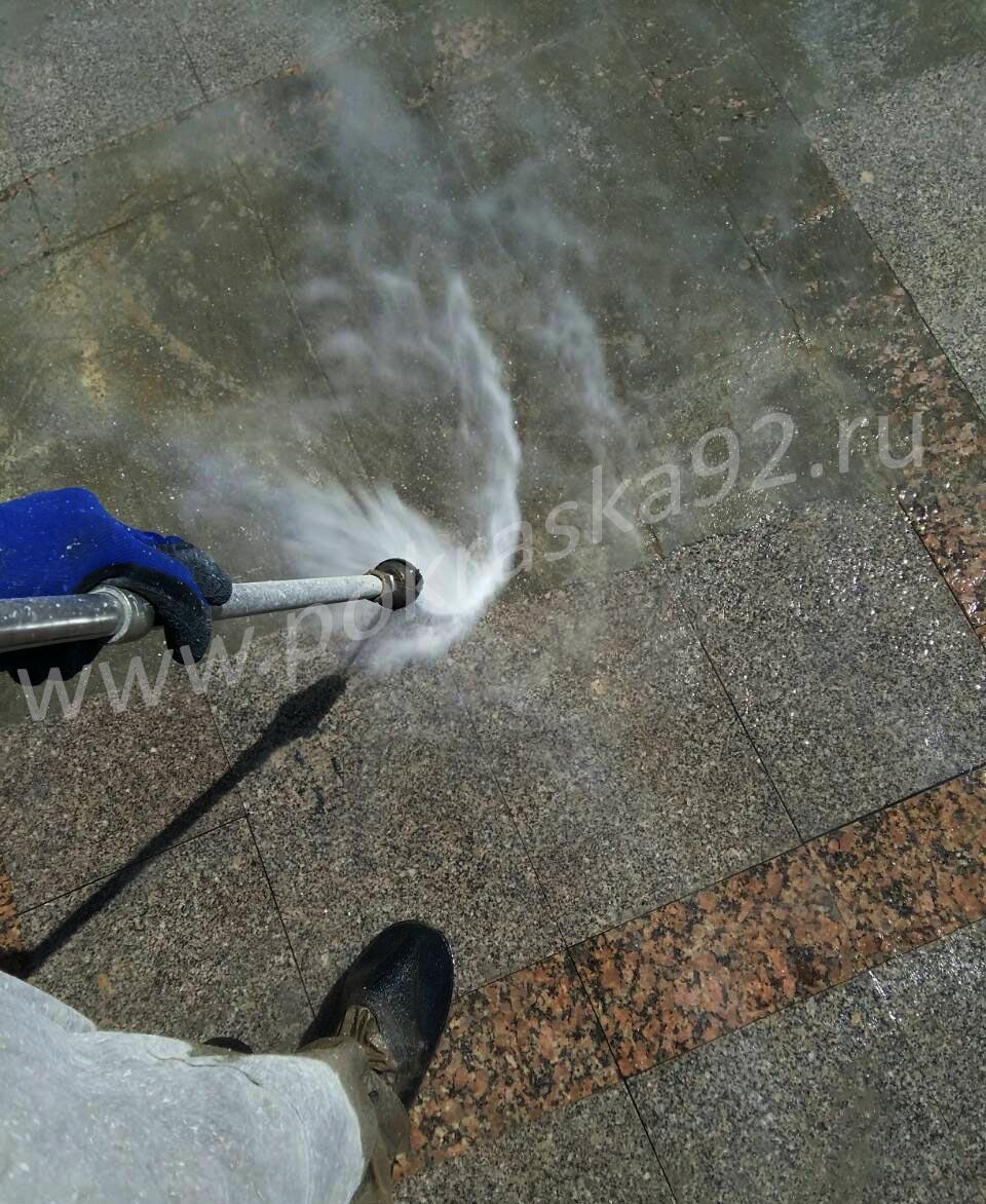 Гидроструйная очистка в Севастополе 500 атм